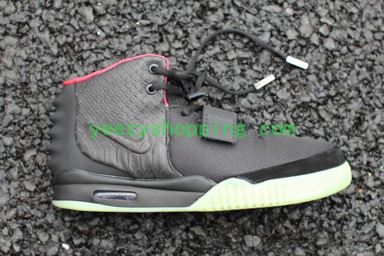 43f5041f6 ... where to buy nike air yeezy 2 black solar red flawless version d7165  f0e22 ...