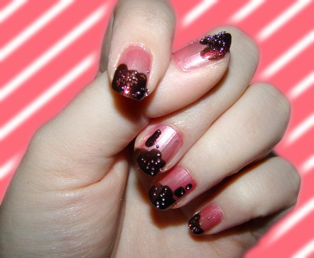 Nail arts Syrup_dipped_nails_by_toxic_muffins-d4kxfj4