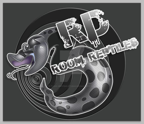 3rd Room Reptiles Logo by Toxic-Muffins-Studio