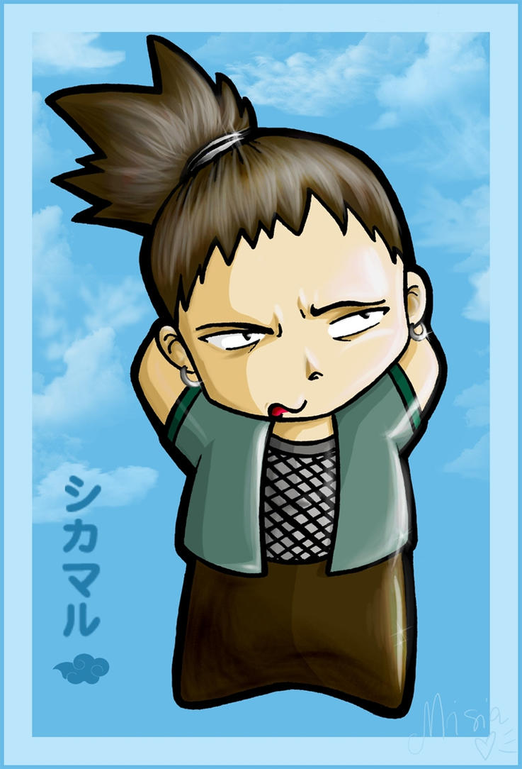 Chibi Shikamaru by Carrie-Tempest