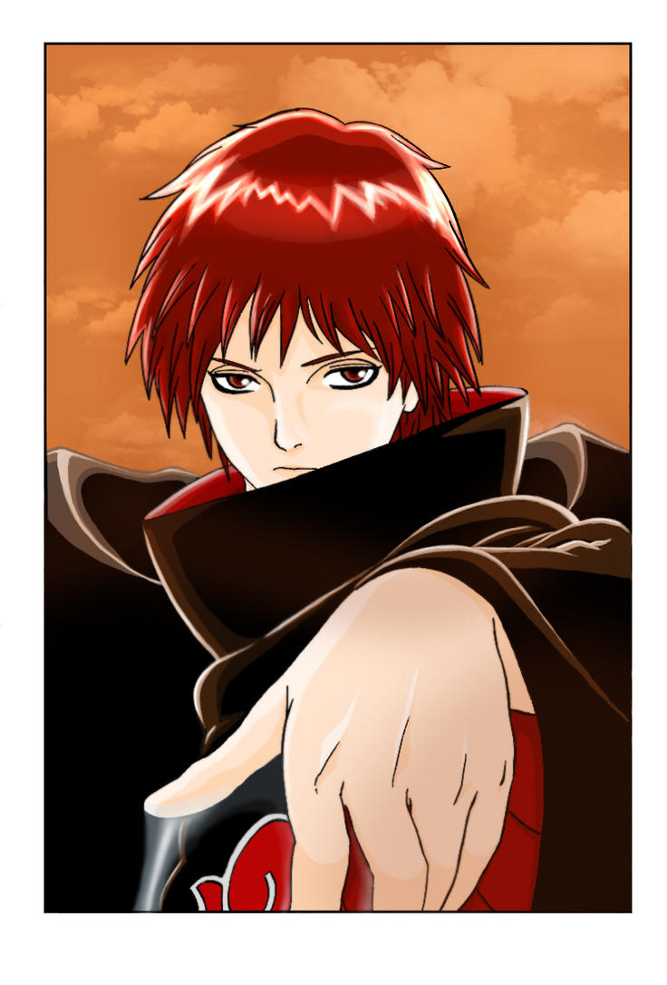 Sasori of the Red Sand by Carrie-Tempest