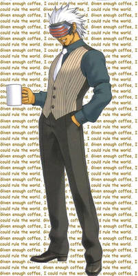 Godot and his coffee