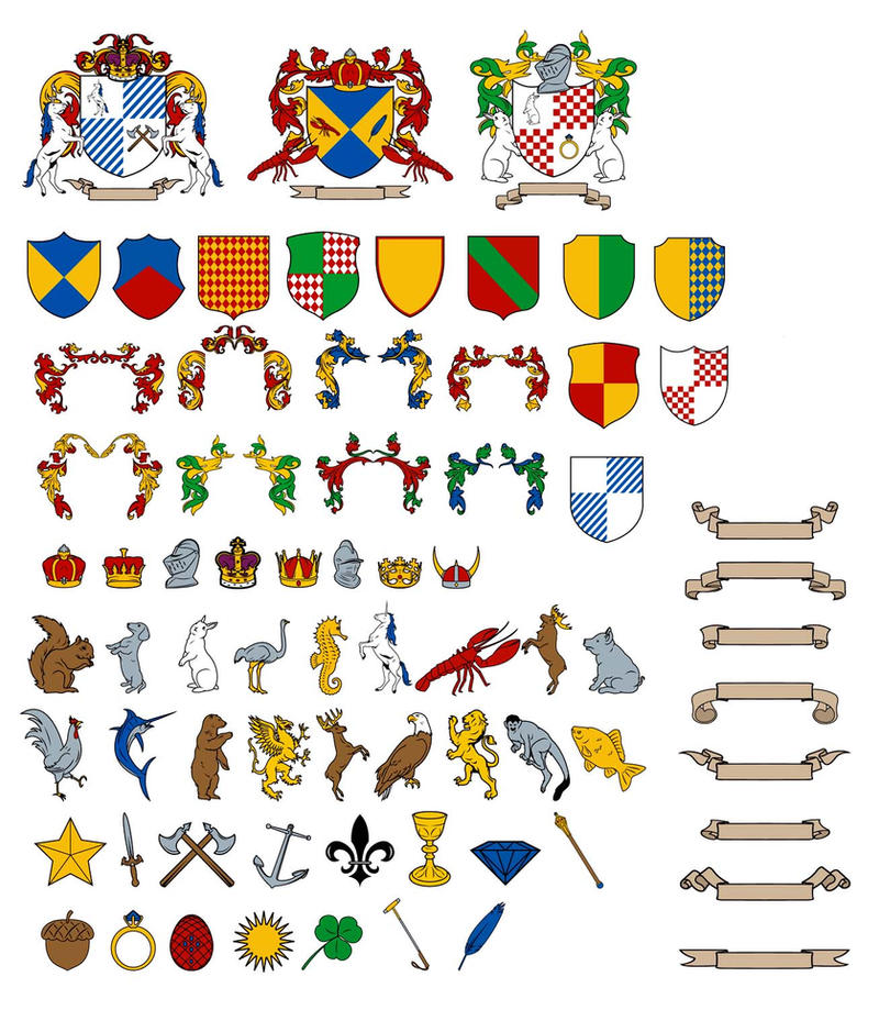 SEARCH FOR YOUR NAME HERE - Coat of arms