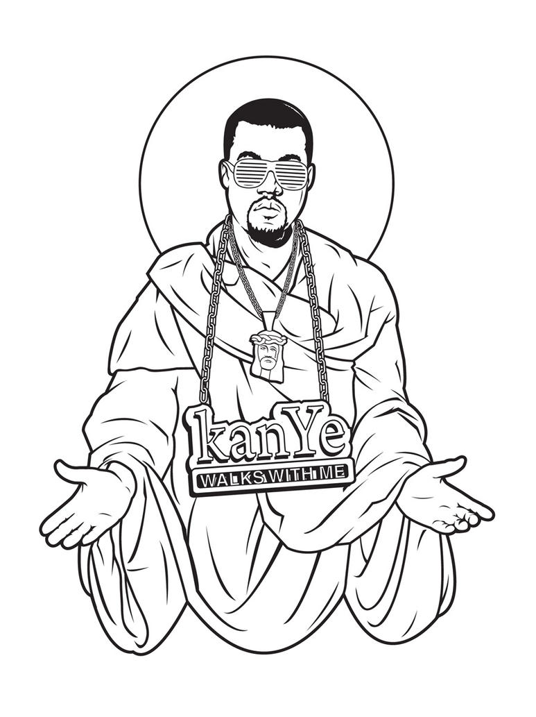 Kanye Walks With Me t-shirt by Cloxboy