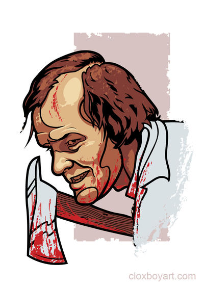 Jack Torrance by Cloxboy