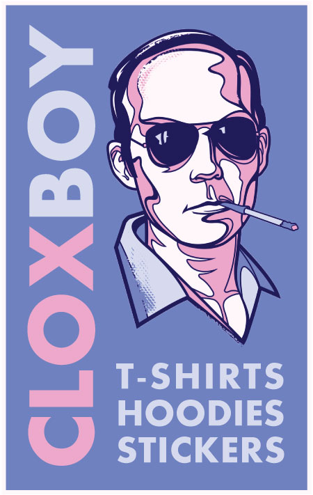 Hunter S. Thompson RB Ad by Cloxboy