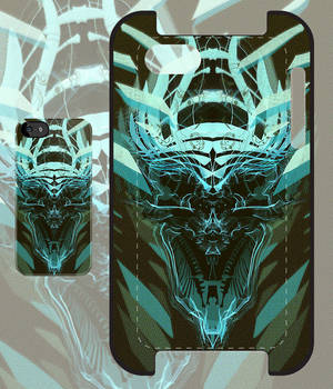DK Skull green iPhone and iPod case
