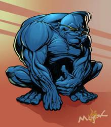 Mojok Blue Gorilla 2 by Cloxboy