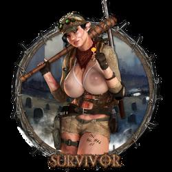 Survivor - Vanity Plate by Becarra
