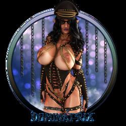 Dominatrix - Vanity Plate by Becarra