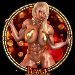 Power - Vanity Plate by Becarra