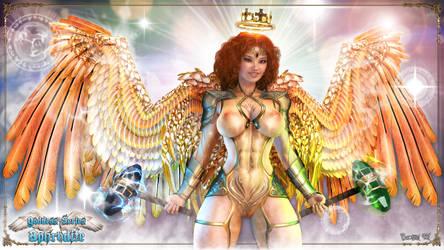 Goddess Series - Aphrodite 02 by Becarra