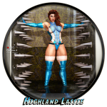Highland Lassie for member9 by Becarra