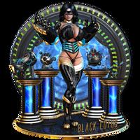 Black Lotus - Vanity Plate
