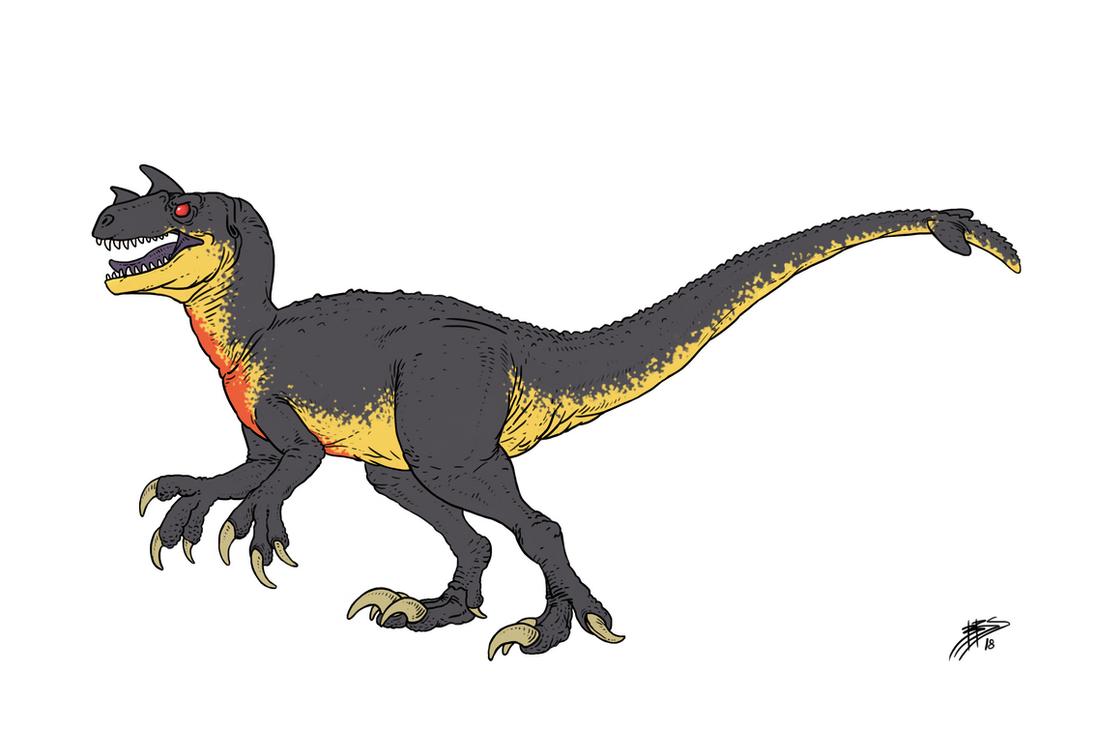 The original indoraptor - Dino attack raptor by tnilab-ekneb121