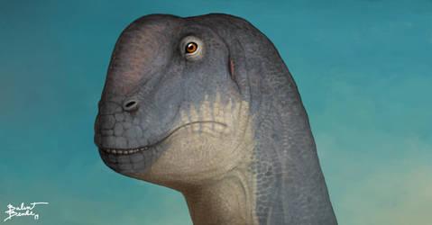 Camarasaurus portrait. by tnilab-ekneb121