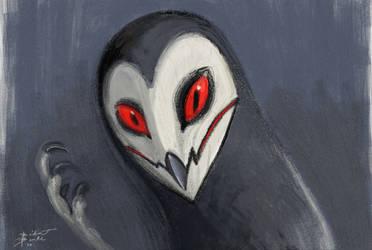 Demon Owl Sketch