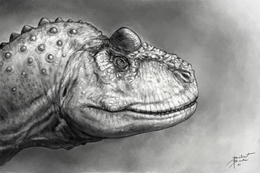 Carnotaurus Portrait