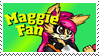 Maggie Fan Stamp!! by Musical-Fox-Maggie