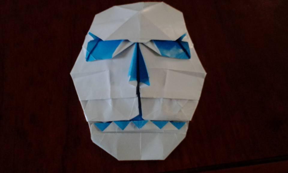 origami skull mask by felipeorigamis on deviantart