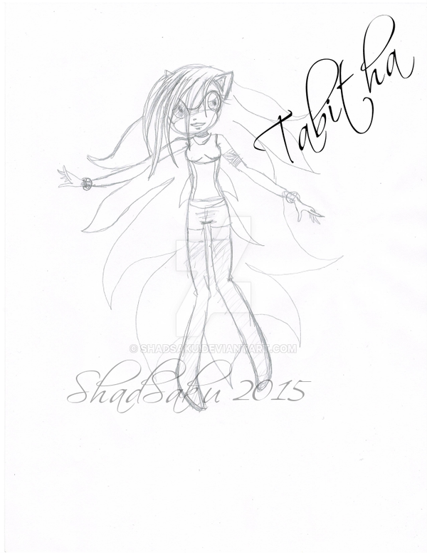 Tabitha the Hedgehog by ShadSaku