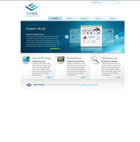 THREEE Webdesign by punktlos