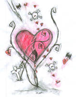 broken hearts by blackCATSluckyCHARMS
