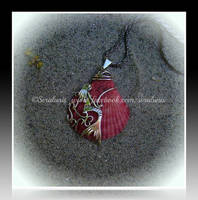 'Little mermaid' sterling silver pendant SOLD