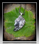 'Never ending dream'  silver pendant (SOLD)