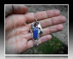 'Midnight dreams' silver pendant SOLD