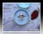 'Kitsune' handmade sterling silver ring