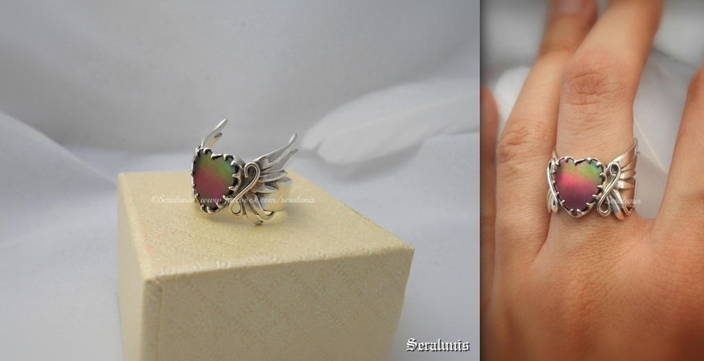 'Everlasting dreams' handmade sterling silver ring by seralune