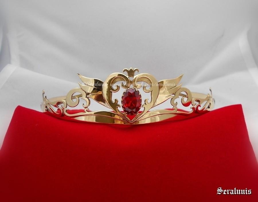 'Neo Queen Serenity' handmade crown by seralune