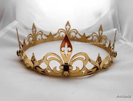 'Noble heart', Handmade Medieval Crown
