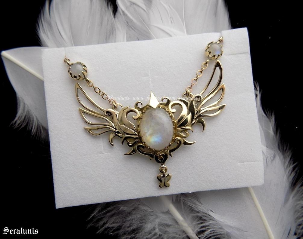 'Daydreamer's Star', handmade brass necklace by seralune