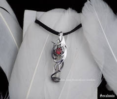 Contest prize, handmade sterling silver pendant