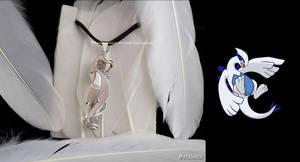 'Lugia with Angel aura quartz' pendant FOR SALE