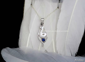 Dragonair sterling silver necklace FOR SALE by seralune