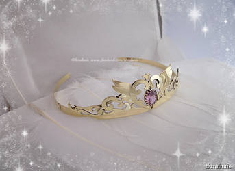 'Neo Queen Serenity' tiara with moon and star by seralune