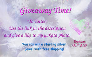 Sterling silver jewelry Giveaway!