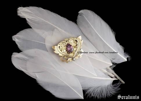 Queen Chibimoon handmade brooch