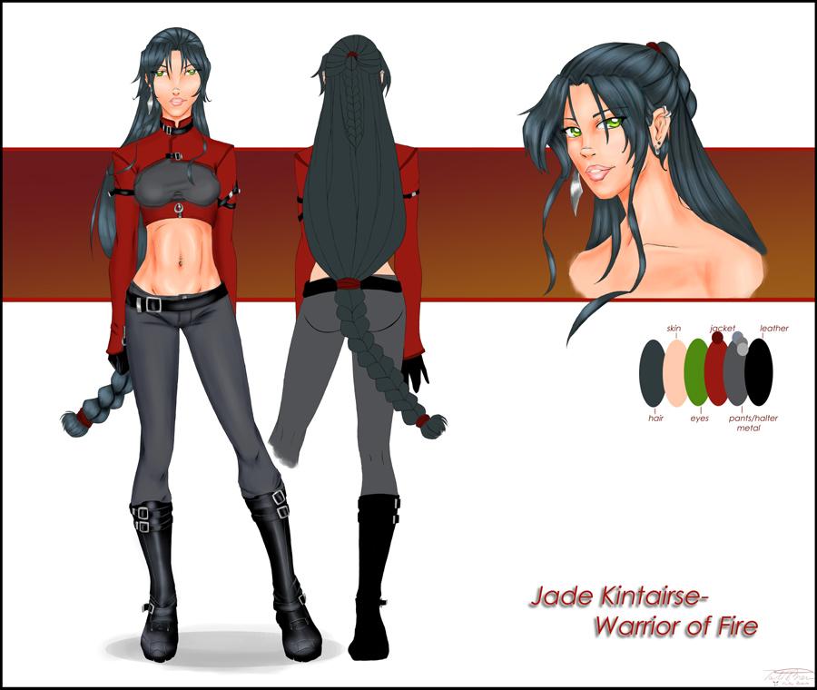 Jade Kintairse Warrior of Fire by JadeKintairse