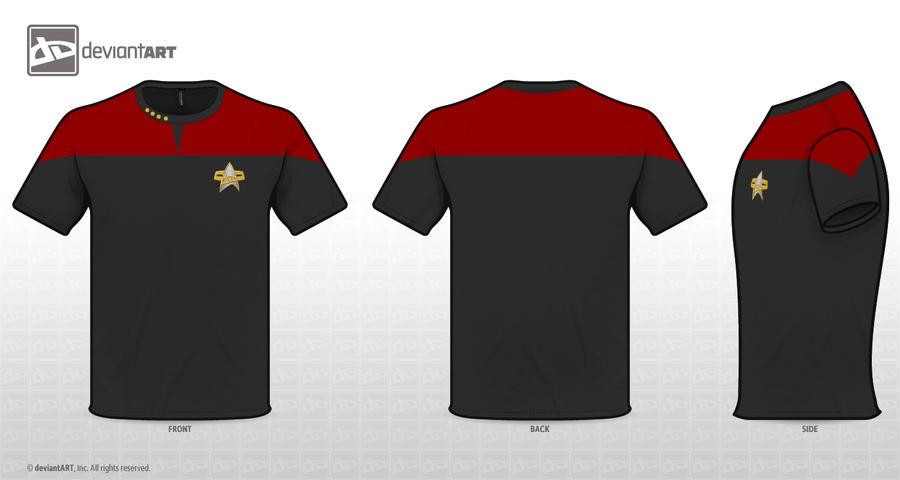 Starfleet Uniform by deScign