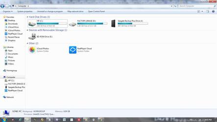 My Windows 7