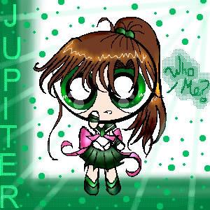 Sailor Jupiter puffed by star-rocker