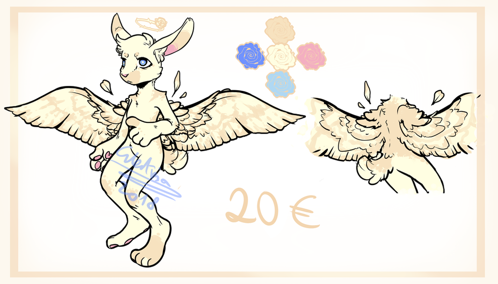 Angel bunny adopt [REMINDER] by Electrisa