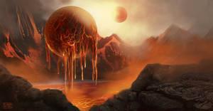 Lava sphere