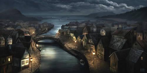 Innsmouth at Night