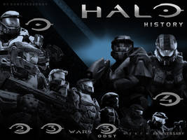 Halo History by DANYVADERDAY