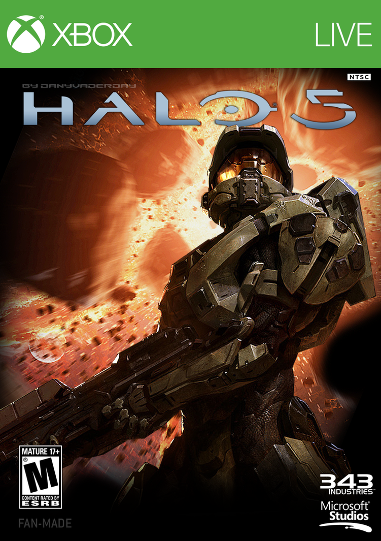 Halo 5 | Fan Made Box Art by DANYVADERDAY